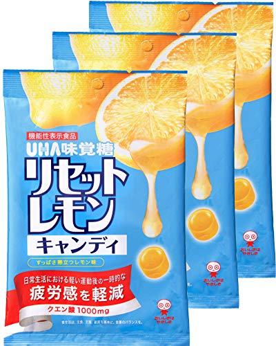 味覚糖 リセットレモンキャンディ 112g×3袋