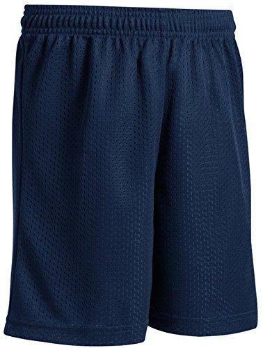 Joe's USA Basketball-Shorts für Jugendliche, Netzgewebe, in 10 Farben erhältlich -  blau -  Klein