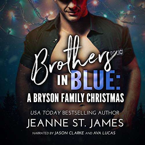 Brothers in Blue: A Bryson Family Christmas cover art