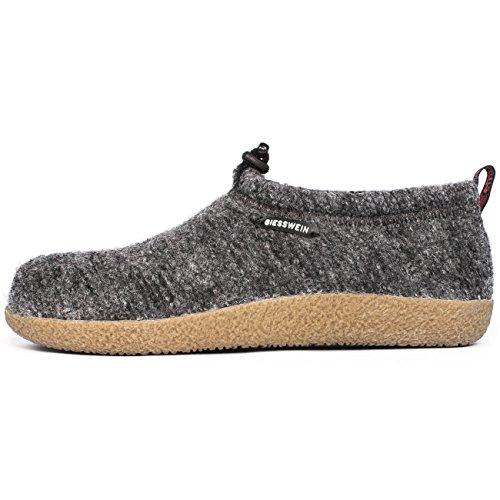 GIESSWEIN Unisex-Erwachsene Vent Pantoffeln, 019 Schiefer, 43 EU
