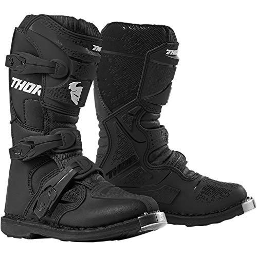 Thor Blitz XP Jugend Kinder Boots Stiefel Enduro Dirtbike Motocross schwarz, Größe: Größe 5 (EU 37)