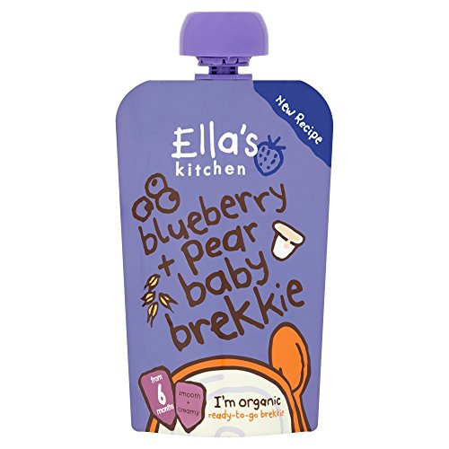 Ella's Kitchen Organic Baby Brekkie Blueberry & Pear 100g