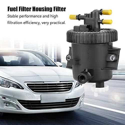 Caja del filtro de combustible con filtro para Berlingo Xsara Picasso Bomba de agua de refrigeración 206 306 307 2,0 HDi