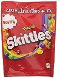 Skittles Fruit, Caramelle Americane Rotonde Colorate a tutti i Gusti della Frutta, 14 confezioni da 160g