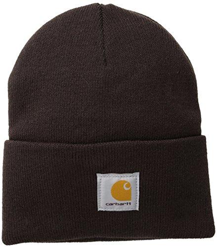 Carhartt Acrylic Mütze Beanie dunkel A18DKB, braun, A18