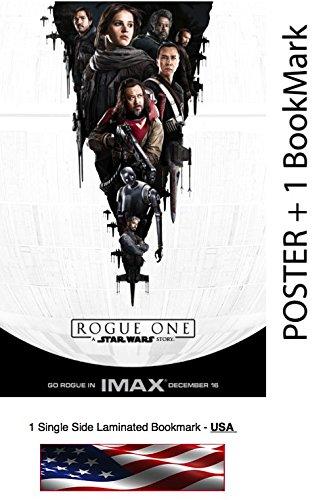 Rogue One: A Star War Story - Movie Poster, Size: 24 x 36 - Felicity Jones, Diego Luna