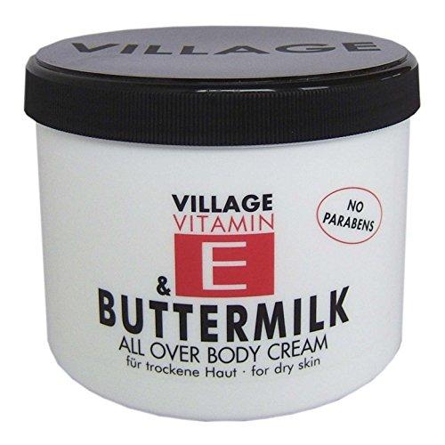 Village 9506-13 Buttermilk Body Cream 500ml mit Vitamin E
