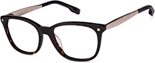 9cb937a36905 Tortoise Golden Full Rim Wayfarer Shape Medium (Size-53) John Jacobs Rich  Acetate