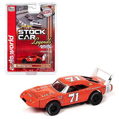 SC355-1 Auto World Xtraction R31 '69 Dodge Daytona K&K Insurance Bobby Isaac Ho Slot Car