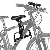 OOTO Kindersitz Fahrrad Mountainbike Vorne Kinder Fahrradsitz, Montierte Fahrradsitze mit Lenkerbefestigung für Kinder von 2-6 Jahren, Tragbarer Abnehmbarer Vorneliegender Fahrradsitz Bis Zu 48 Pfund