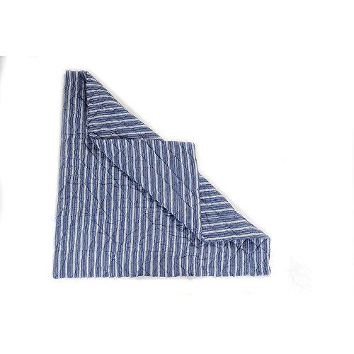 Wigwam Floor Quilt Navy (Win Green)