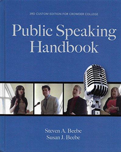 Public Speaking Handbook for Crowder College