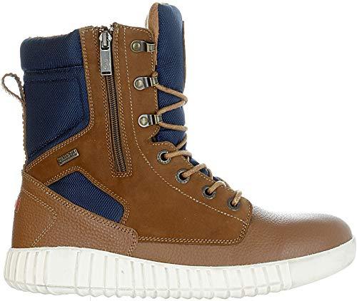 PAJAR Pearson-Stiefel für Herren, Farbe: Cognac/Marineblau, Größe: 42 (52628-206-52152)