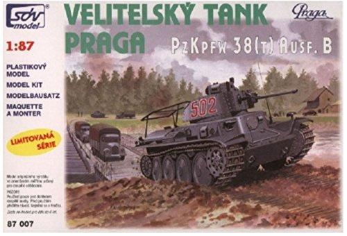 Modellbau Kunststoff Modellbausatz Militär SDV 1:87 H0 Praga PzKpfw 38 T AUSF. B Kampfpanzer