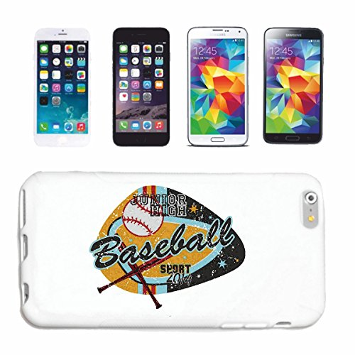Reifen-Markt Hard Cover - Funda para teléfono móvil Compatible con Samsung Galaxy S4 Mini Junior Alta del Club de béisbol de béisbol Bate de béisbol Jugador de béi