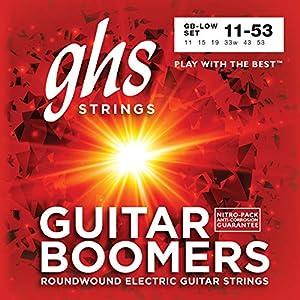 Acero chapado en níquel redondeado Tiene un cable de núcleo redondo Cuerda brillante y tono duradero Para tono de rock, country, blues y bluegrass
