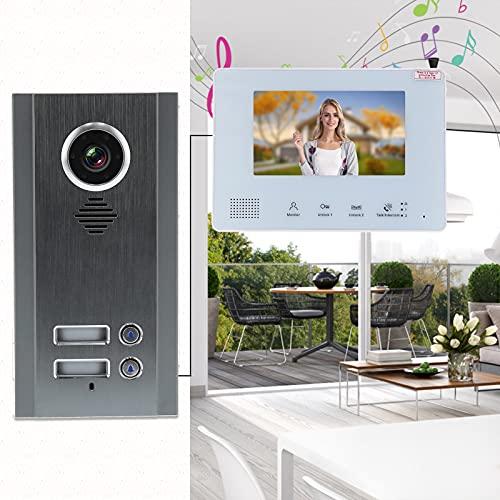 Intercomunicadores de entrada de puerta, intercomunicador de puerta de dos vías con visión nocturna para sistemas de seguridad en el hogar