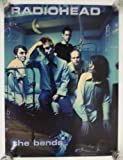 Collectible poster for the band Radiohead -for the album The Bends. The poster is not sold by Radiohead