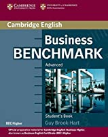 Business Benchmark Advanced Student's Book BEC Edition.