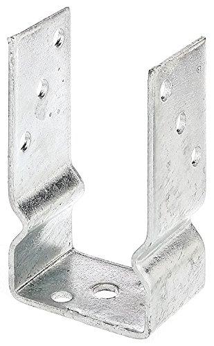 U-Pfostenträger zum Aufschrauben, für Pfosten 9x9 cm