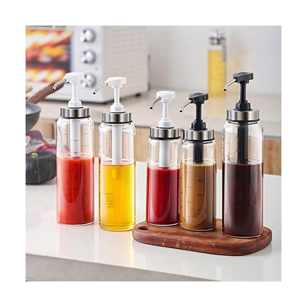 Salsa Exprimir Botella de salsa de tomate Aderezo para ensaladas Miel Prensatelas