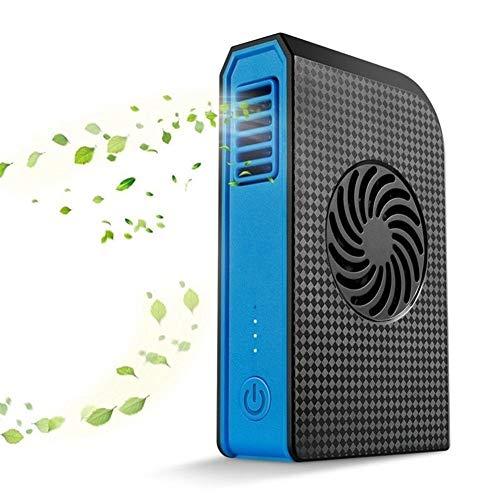 LTH-GD Abanicos de Mano Ventilador Personal pequeño 6000 mAh Mini Ventilador de Escritorio USB portátil Accesorio de Viaje portátil Equipo de Campamento Ventilador de batería portátil