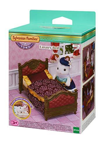 Sylvanian Families 5366 Luxus Bett - Puppenhaus Einrichtung Möbel