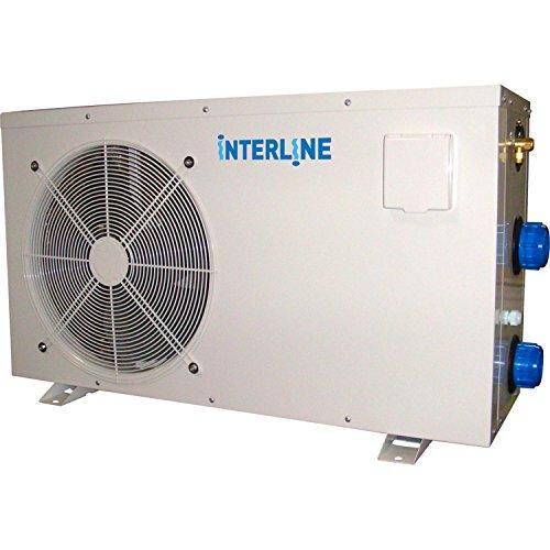 Interline 59692020 Wärmepumpe 10kW für 55m³ Pools