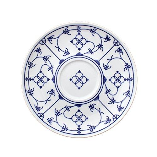 Eschenbach Porcelaine Group Tallinn Indien Bleu pour Soupe inférieure 16 cm Porcelaine, Bleu Indigo, 1 x 1 x 1 cm