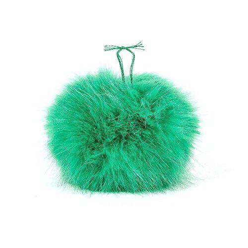 Pompon Kunstfell grün
