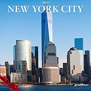 """Goldistock 2020 Large Wall Calendar -""""New York City"""" - 12"""" x 24"""" (Open) - Thick & Sturdy Paper - Perfect for Anyone who Loves The City That Never Sleeps -"""
