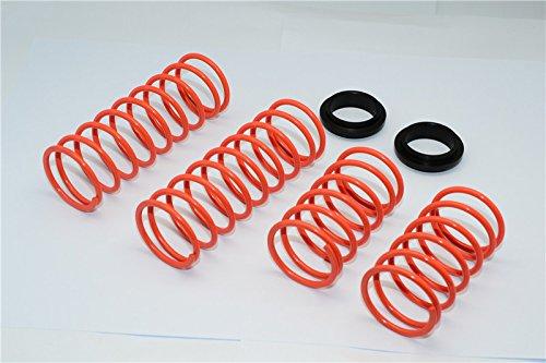 Traxxas X-Maxx 4X4 Upgrade Pièces 2.8mm Coil Springs For Original Or GPM Optional Shocks TXM12170 - 1 Set Orange