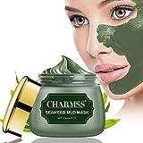 Charmss Algenmaske, Schlammmaske aus dem Toten Meer, Mitesser-Maske, Tiefenreinigungsmaske, Anti-Aging-Gesichtsbehandlung für alle Hauttypen, verjüngtes und feuchtigkeitsspendendes Gesicht...