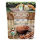 PURE NATURAL MIRACLES Cacao Powder Organic Raw, Unsweetened Cocoa, 2 lb