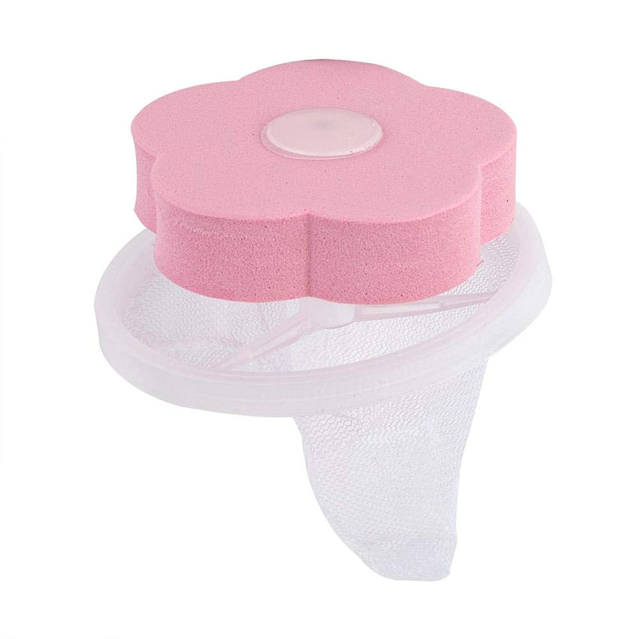 古風な小数知覚するヘアキャッチャーフィルター再利用可能な洗濯機フローティングリントメッシュバッグポータブルワッシャーリントキャッチャー洗濯機リントトラップ用家庭用ツール 2点(ピンク)