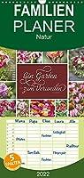 Ein Garten, der zum Verweilen einlaedt - Familienplaner hoch (Wandkalender 2022 , 21 cm x 45 cm, hoch): Fuer Blumenliebhaber und Gartenfreunde ... (Monatskalender, 14 Seiten )