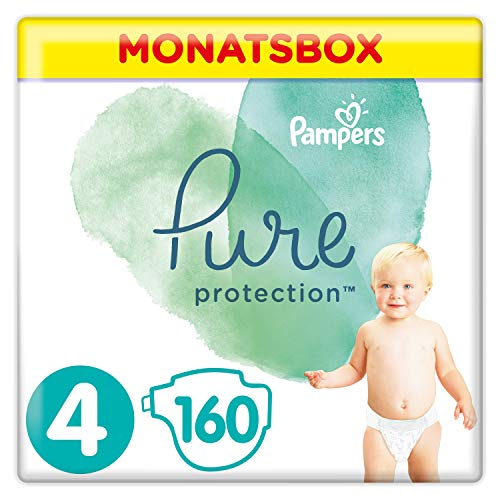 Pampers Pure Protection Lot de 160 pics 9-14 kg