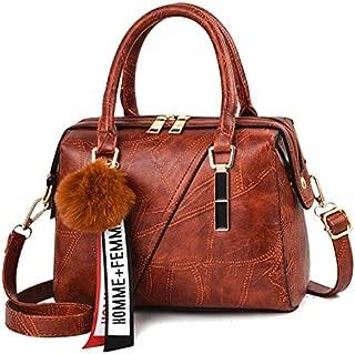 TOOGOO Women'S Handbag New Ladies Messenger Bag Casual Women'S Pu Leather Handbags Ladies Classic Shoulder Bag Black