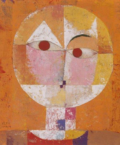 Art-Galerie Leinwandbild Paul Klee - Senecio 1922-50 x 60cm - Premiumqualität - Made IN Germany SHOPde