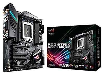 ASUS ROG STRIX X399 GAMING AMD Ryzen Threadripper TR4 DDR4 M.2 U.2 X399 EATX HEDT Motherboard