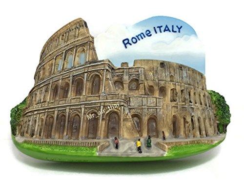 Coliseo Romano, Roma Souvenir resina 3d imán para nevera Souvenir Tourist regalo