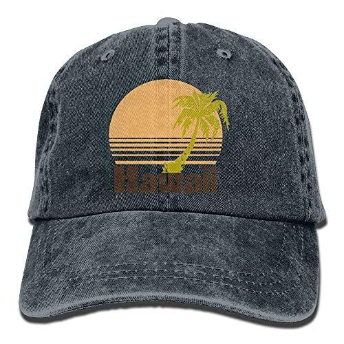 Hoswee Baseballmütze Hüte Kappe Retro Vintage Hawaii Unisex Truck Baseball Cap Adjustable Hat Military Caps