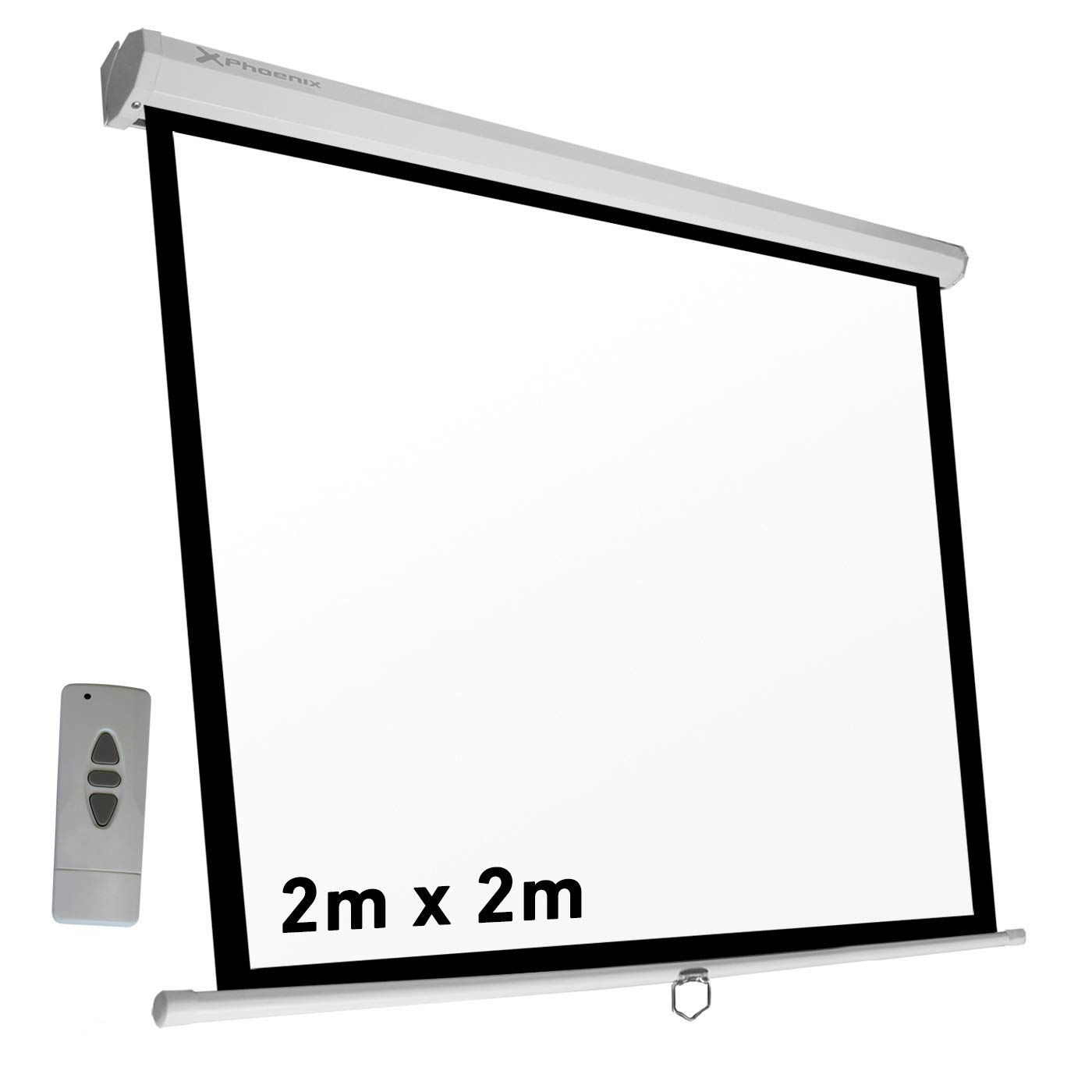 Phoenix Technologies Pantalla proyector electricas (2 x 2m ...