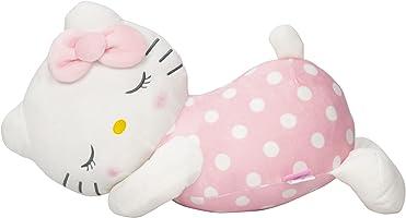 MORIPiLO モリシタ ハローキティ 抱き枕 ピンク 添い寝枕 サンリオ 48x20×25cm