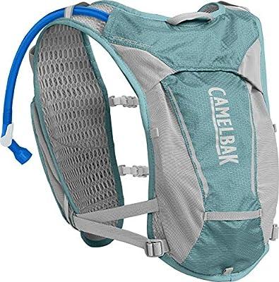 CamelBak Women's Circuit Hydration Vest 50 oz, Aqua Sea/ Silver