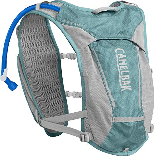 CamelBak Women's Circuit Hydration Vest 50 oz, Aqua Sea/ Silver