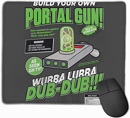 Bouw uw eigen Portal Gun Gaming Mouse Pad Antislip Rubber Mousepad voor Computers Desktops laptop Mouse Mat 9.8