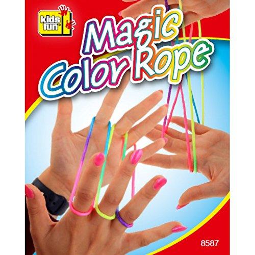 Kids Fun Fingertwist Fadenspiel Fingerspiel Bunt Regenbogen Rainbow Rope Schnur Mitgebsel