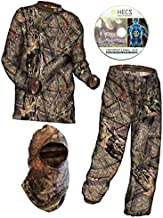 HECS Hunting 3-Piece Suit - Mossy Oak Break-Up Country Camo - Large