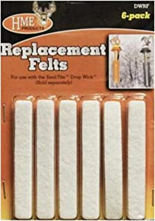 HME Drop Wick Replacement Felts (6 Pack)